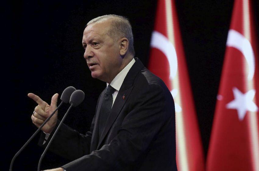 Εμπρηστικός Ερντογάν: Θα συνεχίσουμε να δίνουμε τις απαντήσεις που πρέπει σε Ελλάδα και Κύπρο