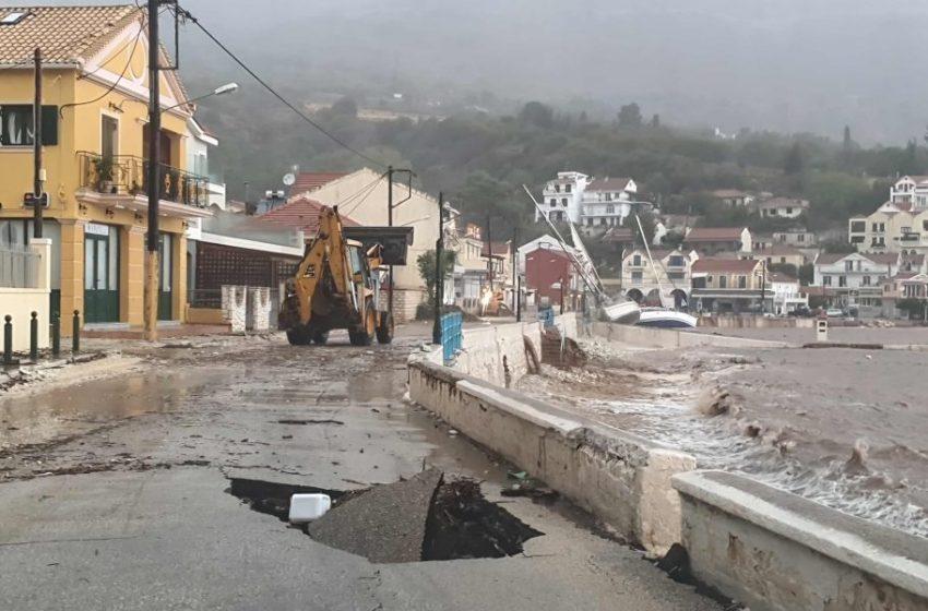 Κεφαλονιά: Βυθίσεις, προσαράξεις και ζημιές σε δεκάδες σκάφη