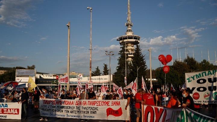 Ολοκληρώθηκαν οι πορείες στο κέντρο της Θεσσαλονίκης – Αποκαθίσταται η κυκλοφορία στην πόλη