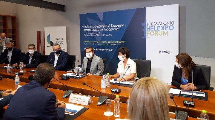 Αλ. Τσίπρας: Απαιτούνται στήριξη του δημόσιου τομέα και κεντρικές παρεμβάσεις του κράτους στην οικονομία