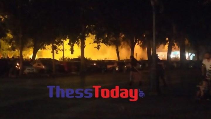 Επεισόδια στην πορεία αντιεξουσιαστών στη Θεσσαλονίκη (vid)