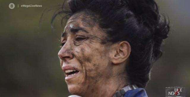 """Η ηρωίδα που έδωσε μάχη με τις φλόγες κι έγινε viral – """"Νιώθαμε σαν να αποχαιρετάμε τον κόσμο"""" (vid)"""