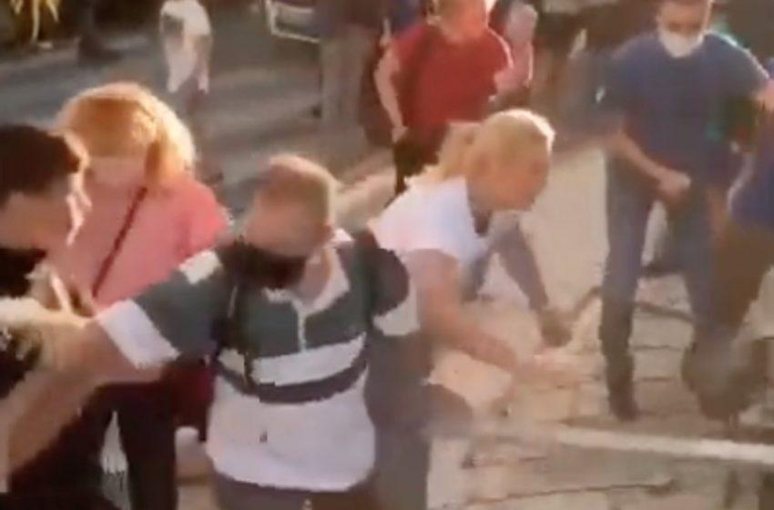Επεισόδια και ξύλο με γονείς σε υπό κατάληψη σχολείο στον Άλιμο (vid)