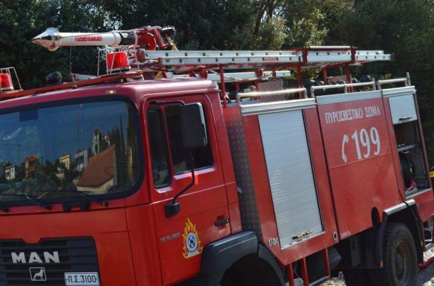 Πυρκαγιά σε εξέλιξη στην Πρέβεζα
