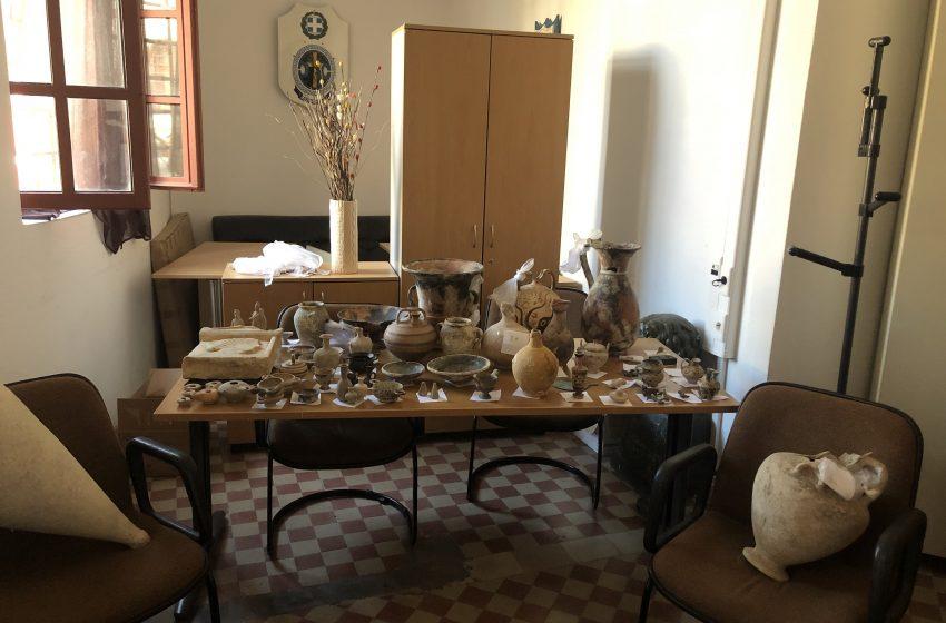 Συννελήφθη αρχαιοκάπηλος στη Ρόδο