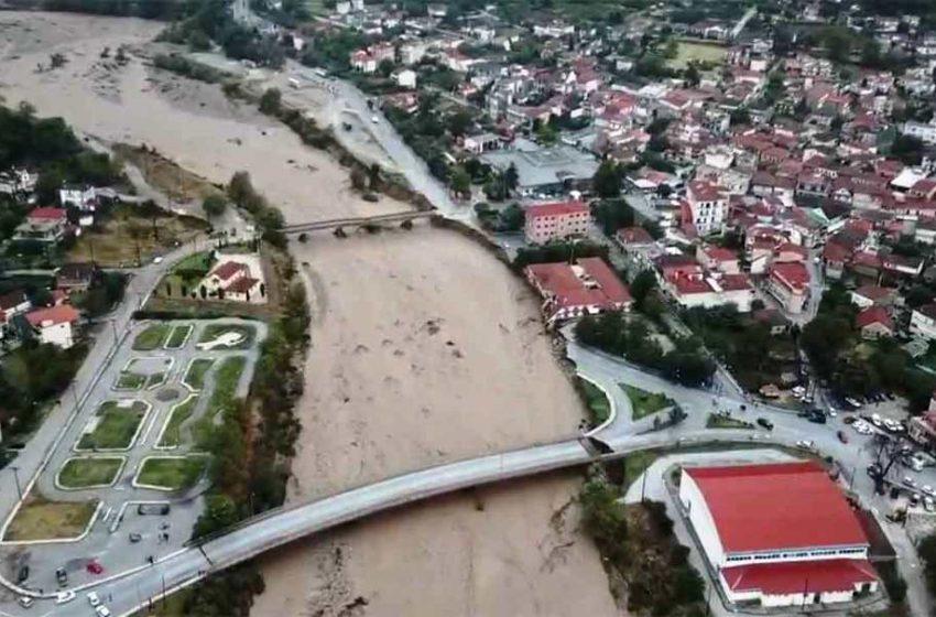 Ιανός: Λίμνη έγιναν 200.000 στρέμματα στη Θεσσαλία