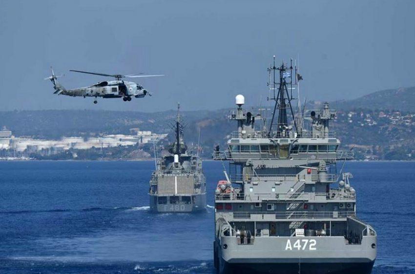 Αποκλιμάκωση: Αποσύρονται τουρκικά και ελληνικά πολεμικά πλοία από την αν. Μεσόγειο