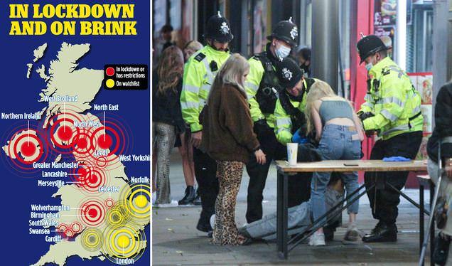 """""""Σηκώνει τα χέρια"""" η Αστυνομία στη Βρετανία- Χάος και συνωστισμός το σαββατοκύριακο- """"Δεν μπορούμε να ελέγξουμε την τήρηση των μέτρων"""" (εικόνες)"""