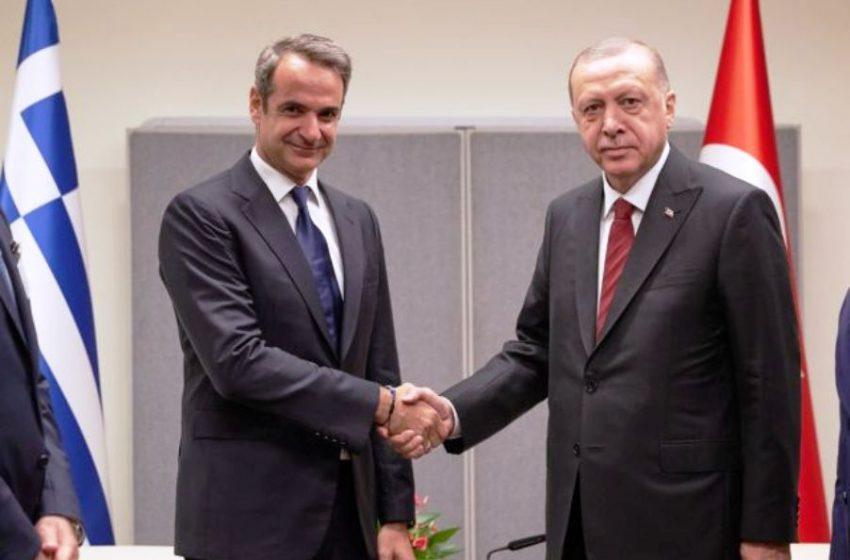 Κ.Μητσοτάκης: Διάλογο με Ερντογάν  μόνο για τις θαλάσσιες ζώνες