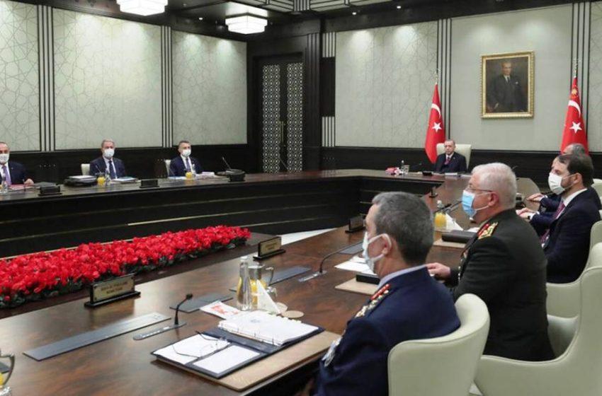 Συμβούλιο Εθνικής Ασφαλείας Τουρκίας: Ζητά εκ νέου αποστρατικοποίηση των ελληνικών νησιών και…δίκαιη διανομή του φυσικού πλούτου