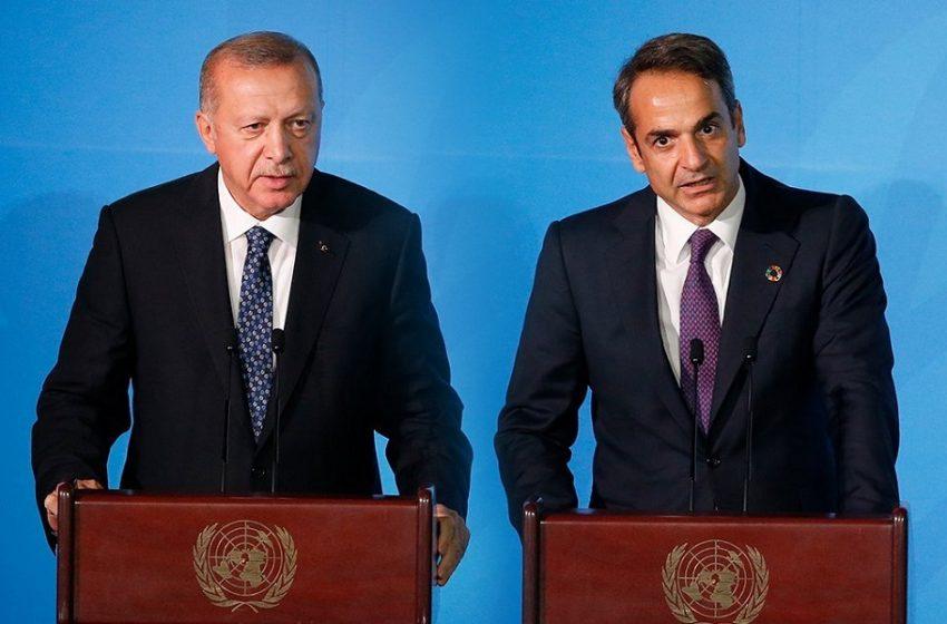 Επικοινωνία Μητσοτάκη με Ερντογάν: Έντονο διπλωματικό παρασκήνιο και ανακοινώσεις για έναρξη διαλόγου