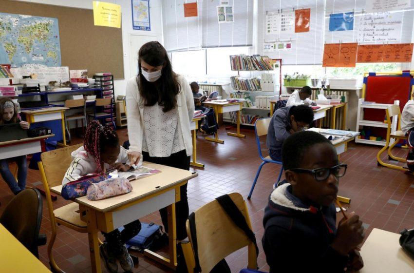 Δραματική αύξηση των κρουσμάτων έφερε το άνοιγμα των σχολείων στην Γαλλία