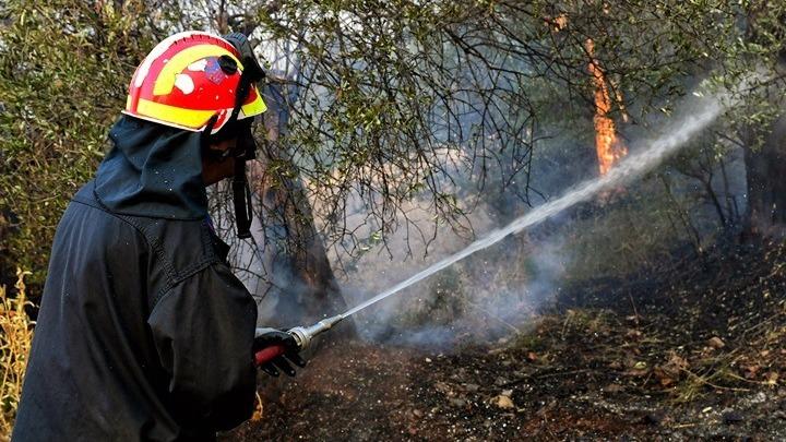 Πυρκαγιά στην Παλλήνη