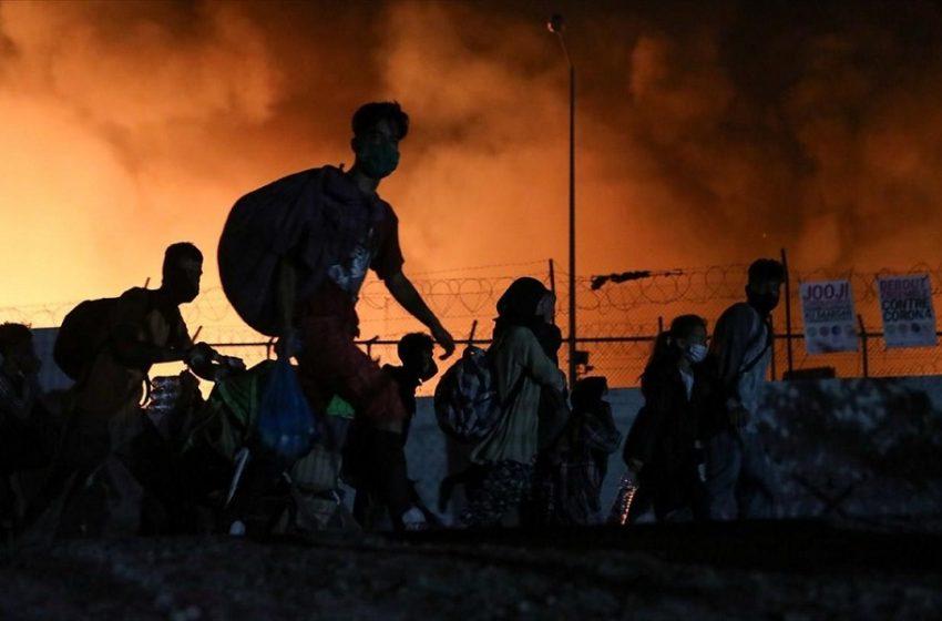 Τεράστια καταστροφή στη Μόρια: Σε κατάσταση έκτακτης ανάγκης η Λέσβος