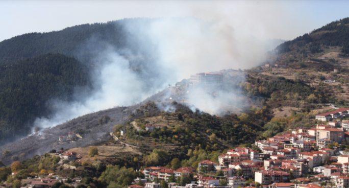 Φωτιά στο Καρπενήσι