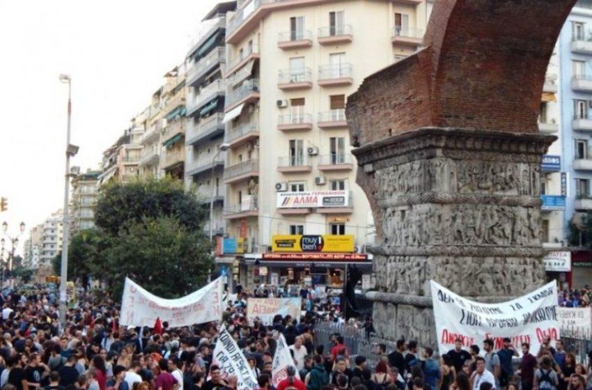 """""""Φρούριο"""" η Θεσσαλονίκη–Κλειστοί οι δρόμοι για τις συγκεντρώσεις"""