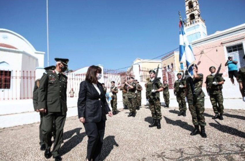 Στον εορτασμό της απελευθέρωσης του Καστελορίζου η ΠτΔ