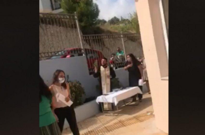 Κρήτη: Συνελήφθη ο ιερέας που έκανε κήρυγμα κατά της μάσκας (vid)