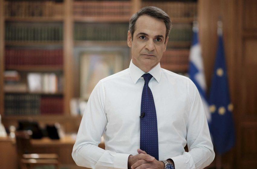Ολόκληρο το τηλεοπτικό μήνυμα του πρωθυπουργού για τον κοροναϊό (vid)