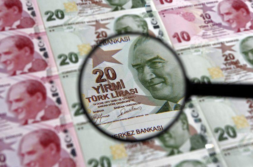 Βουτιά ρεκόρ στην τουρκική λίρα