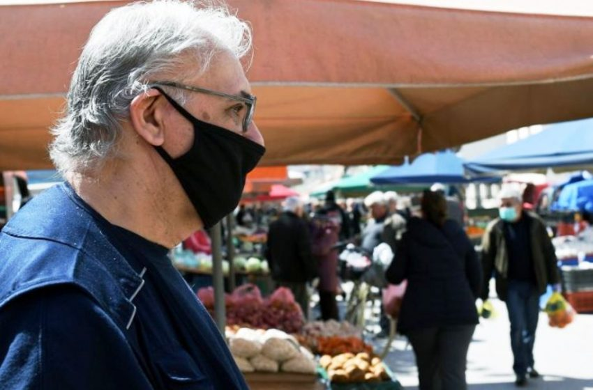 Aυτή είναι η πόλη με τις περισσότερες παραβάσεις για την χρήση μάσκας