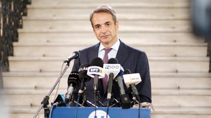 """Μητσοτάκης για την ύφεση του 15,2%: """"Μικρότερη από Ισπανία, Γαλλία, Ιταλία""""!"""