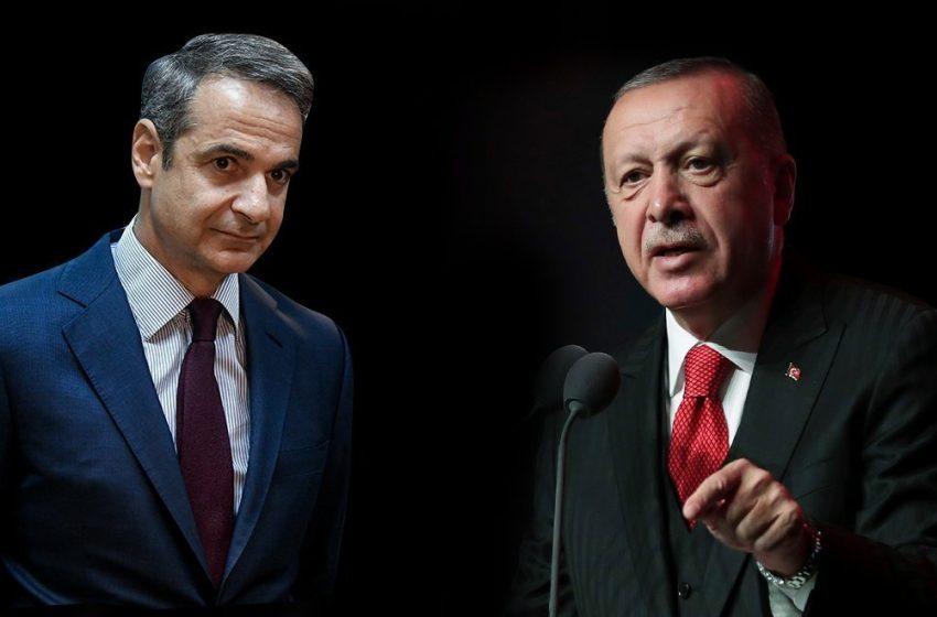 Τηλεφωνική επικοινωνία Μητσοτάκη – Ερντογάν: Ανοιχτό το ενδεχόμενο πριν από τη Σύνοδο Κορυφής