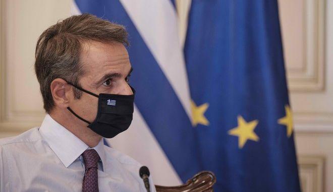 Κυρ. Μητσοτάκης: Ικανοποιητική η ανταπόκριση της κοινωνίας για τη χρήση μάσκας