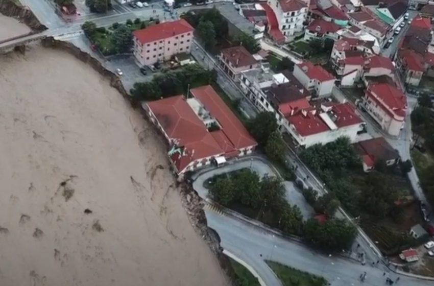 Δορυφόρος αποκαλύπτει την καταστροφή: Πάνω από 210.000 στρέμματα πλημμυρισμένα στην Καρδίτσα