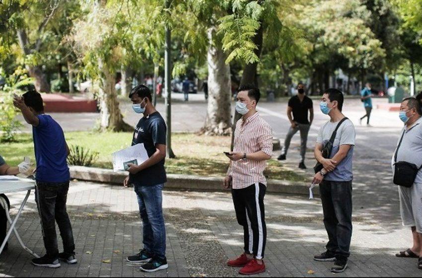 Η ανακοίνωση του ΕΟΔΥ για τα κρούσματα στην Πλατεία Κουμουνδούρου