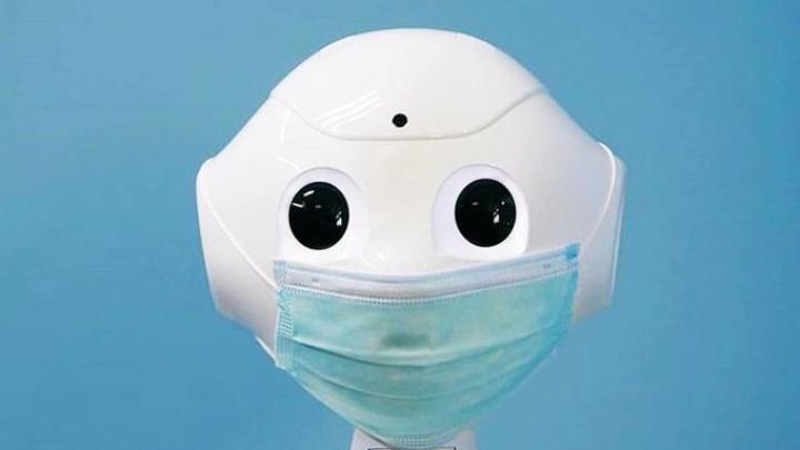 Ρομπότ εντοπίζει αν κάποιος φοράει τη μάσκα του