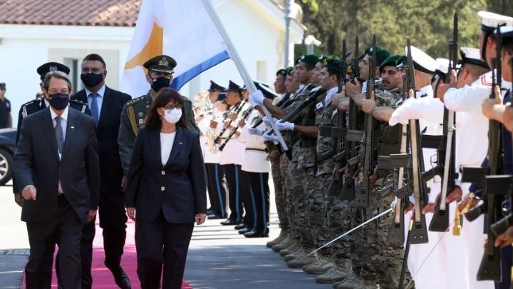 Σακελλαροπούλου: Ενιαίο αραγές μέτωπο Κύπρου-Ελλάδας με γνώμονα το κοινό εθνικό συμφέρον