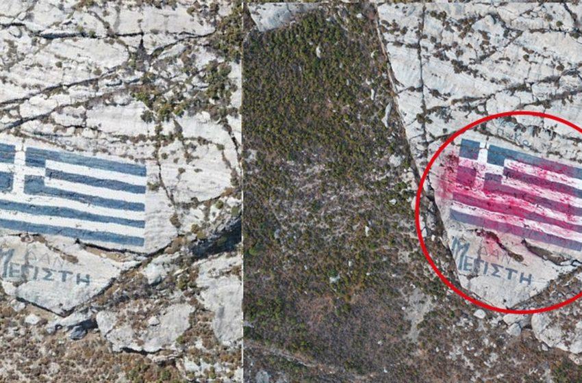 Καστελόριζο: Νέα στοιχεία για το περίεργο περιστατικό με drone και τον βανδαλισμό της ελληνικής σημαίας (vid)