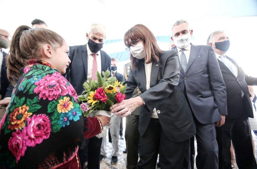 Κ.Σακελλαροπούλου:Το Καστελόριζο είναι πολύτιμο κομμάτι της πατρίδας μας (vid)