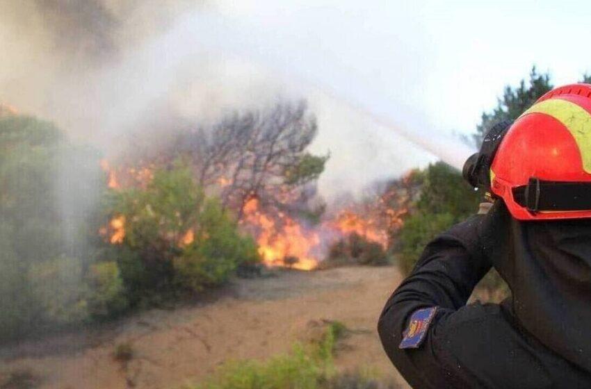 Φωτιά Σοφικό: Καλύτερη η εικόνα – Εκκενώθηκαν οικισμοί και μοναστήρι (εικόνες, vid)