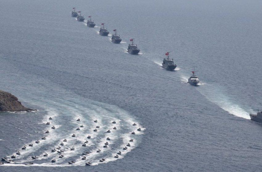 Η Τουρκία απλώνει τον στόλο της σε αν. Μεσόγειο και Αιγαίο – Περίεργο δημοσίευμα για συζητήσεις Άγκυρας – Καΐρου για Καστελόριζο