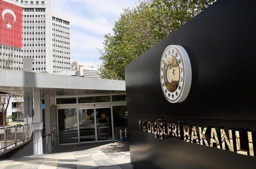Τουρκικό ΥΠΕΞ: Ανεδαφικό το ψήφισμα του Ευρωκοινοβουλίου