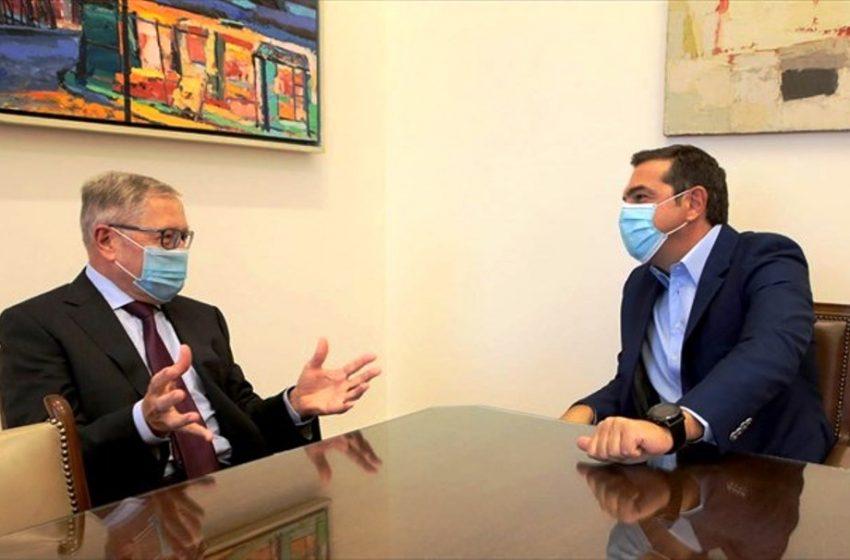 Ανήσυχος για την πορεία της ελληνικής οικονομίας ο Αλέξης Τσίπρας – Τι είπε στον Ρέγκλινγκ