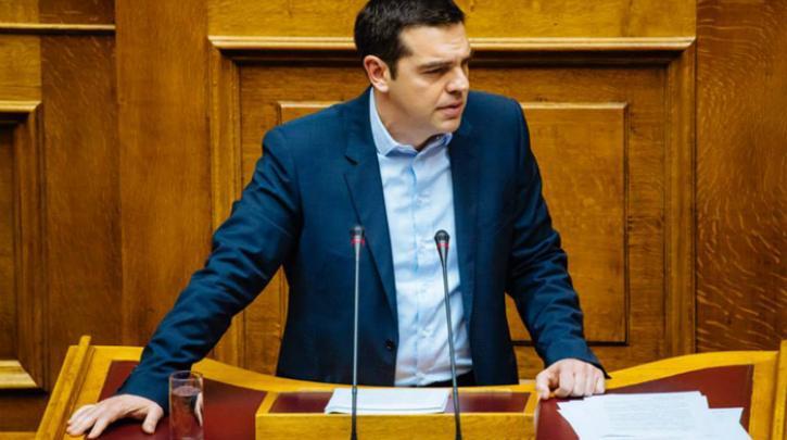 """Τσίπρας: """"Σας συγχαίρω που αναγνωρίζετε την """"ιστορική συμφωνία των Πρεσπών"""", φέρτε και τις κυρώσεις για να πείτε 158 συγγνώμες"""""""
