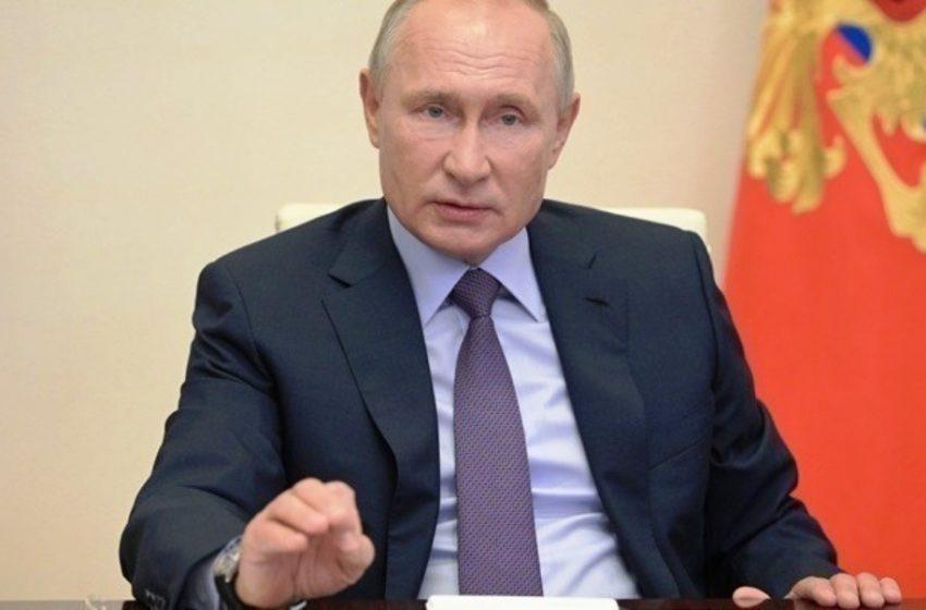 To αγωνιώδες μήνυμα του Πούτιν για τον κοροναϊό