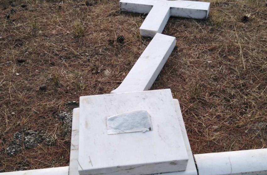 Τατόι: Βανδαλισμός στο ταφικό μνημείο