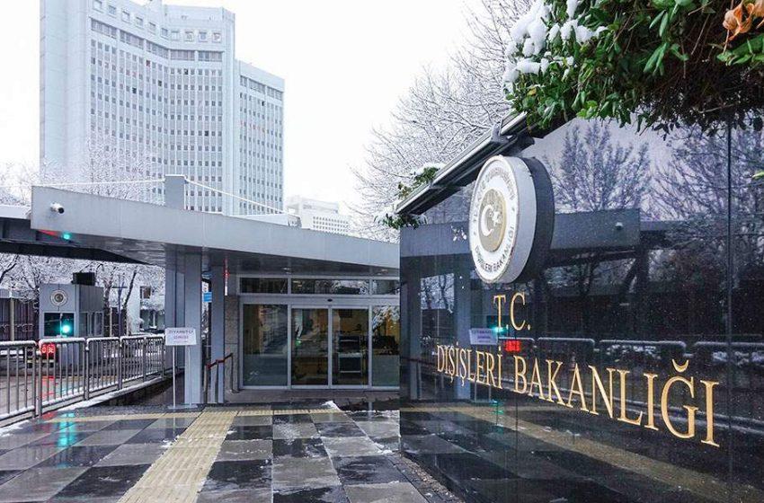 Στο τουρκικό ΥΠΕΞ κλήθηκε ο Έλληνας πρέσβης για δημοσίευμα εφημερίδας