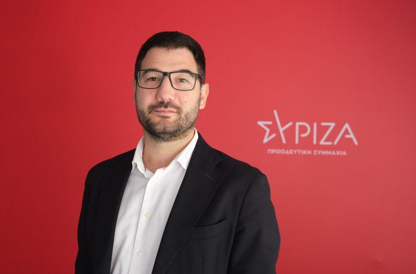 """Ηλιόπουλος: """"Η αδιέξοδη και επιθετική για την κοινωνία πολιτική της κυβέρνησης γεννά τις αντιδράσεις"""""""