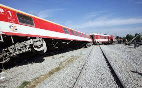 Εκτροχιάστηκε τρένο