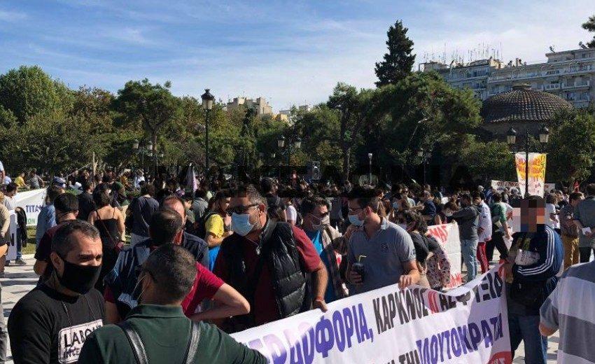 Πορεία ενάντια στη δημιουργία ΜΕΑ και την καύση σκουπιδιών