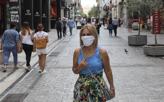 Πάνω από 250 πρόστιμα για χρήση μάσκας την Παρασκευή