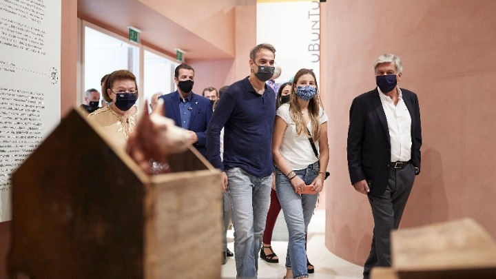 Στο Εθνικό Μουσείο Σύγχρονης Τέχνης ο Κυρ. Μητσοτάκης