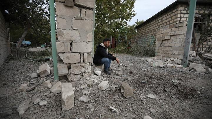 Πρόεδρος Αζερμπαϊτζάν: Όρος για εκεχειρία η αποχώρηση των αρμενικών δυνάμεων από το Ναγκόρνο Καραμπάχ