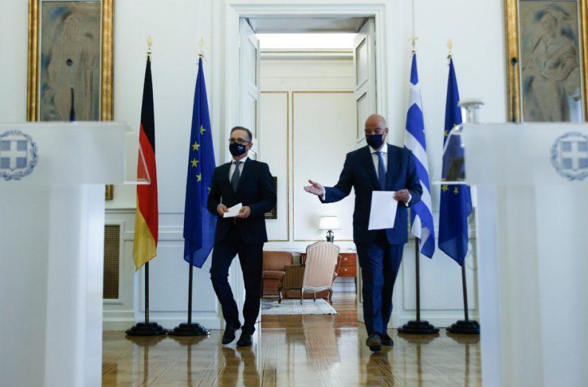 """Μήνυμα Μάας σε Αθήνα και Λευκωσία: Εξακολουθεί να μην θέλει κυρώσεις κατά της Τουρκίας το Βερολίνο- """"Δύσκολη"""" η Σύνοδος Κορυφής"""