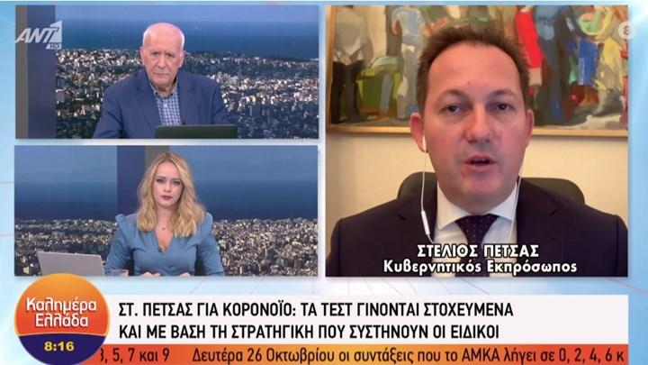 Στ.Πέτσας: Θα πρέπει να υπάρξει εμπάργκο όπλων προς την Τουρκία
